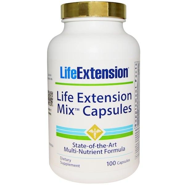 Life Extension, ライフエクステンションミックスカプセル、100カプセル (Discontinued Item)