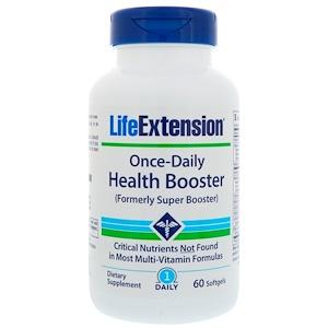 Life Extension, Раз-в-день, для вашего здоровья, 60 мягких капсул инструкция, применение, состав, противопоказания