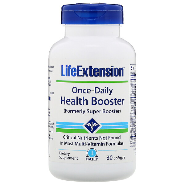 Life Extension, Once-Daily Health Booster, 30 Softgels (Discontinued Item)
