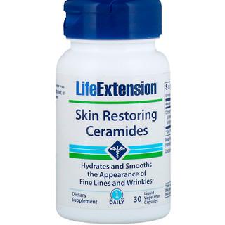 Life Extension, Skin Restoring Ceramides, 30 Liquid Vegetarian Capsules