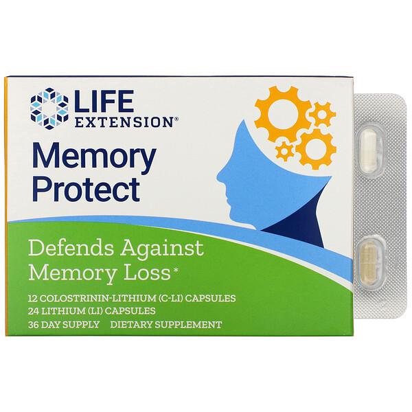 Proteção da Memória, 36 Cápsulas