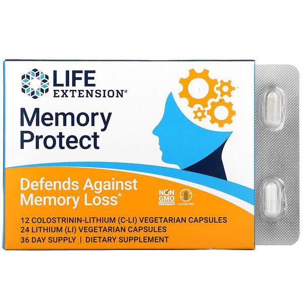 Memory Protect, 36 Vegetarian Capsules