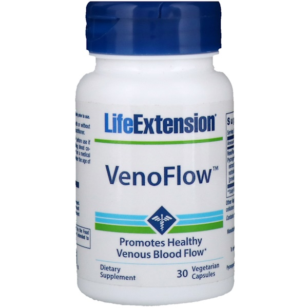 Life Extension, VenoFlow, 30 Vegetarian Capsules