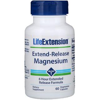 Life Extension, Extend-Release Magnesium, 60 Vegetarian Capsules