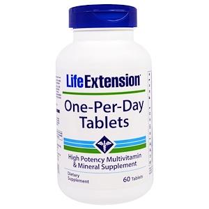 Лайф Экстэншн, One-Per-Day Tablets, 60 Tablets отзывы