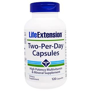 Life Extension, Дважды-в-день, Капсулы, 120 капсул