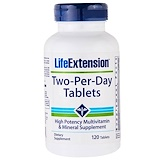 Отзывы о Life Extension, Two—Per-Day Tablets, 120 Tablets