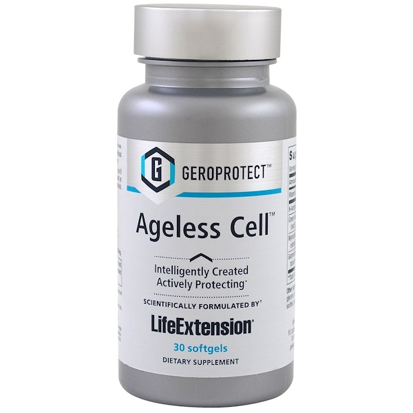 Life Extension, Geroprotect, Ageless Cell, 30 Softgels