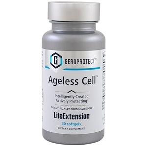 Life Extension, Geroprotect, нестареющая клетка, 30 мягких желатиновых капсул