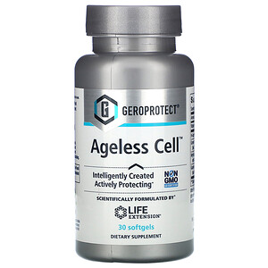 Лайф Экстэншн, GEROPROTECT Ageless Cell, 30 Softgels отзывы