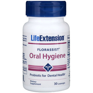 Life Extension, Florassist 口腔衛生錠劑,30 錠
