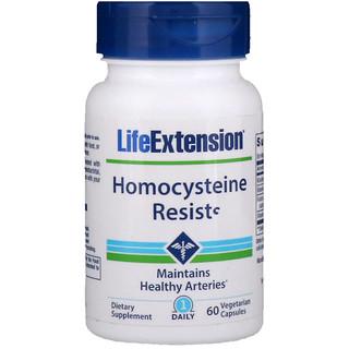 Life Extension, Homocysteine Resist, 60 Vegetarian Capsules