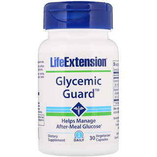 Life Extension, Glycemic Guard, 30 Vegetarian Capsules