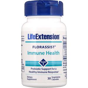 Лайф Экстэншн, Florassist Immune Health, 30 Vegetarian Capsules отзывы