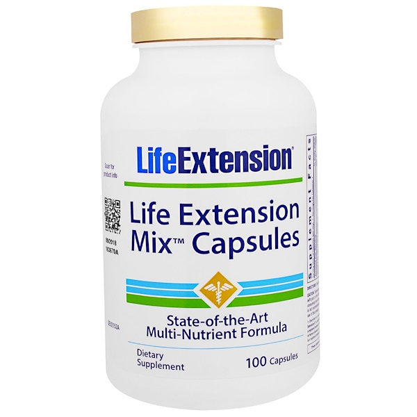 Life Extension, Life Extension Mix Capsules, 100 Capsules (Discontinued Item)