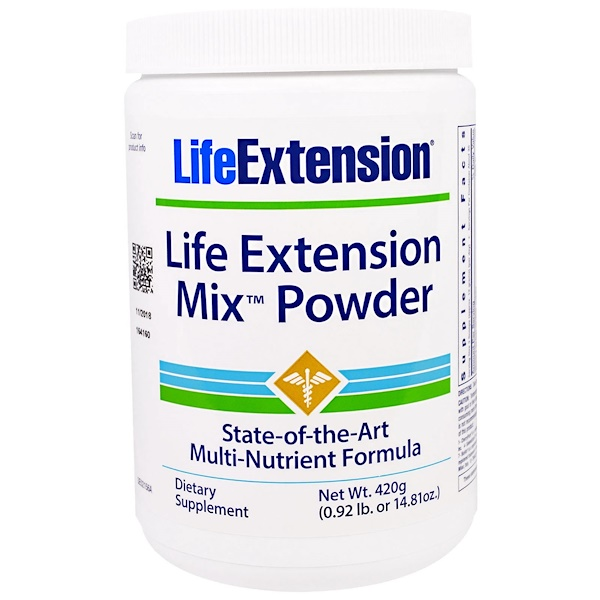 Life Extension, Mix Powder, 14.81 oz (420 g) (Discontinued Item)