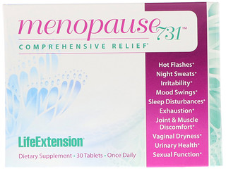 Life Extension, Menopause 731, 30 Tablets