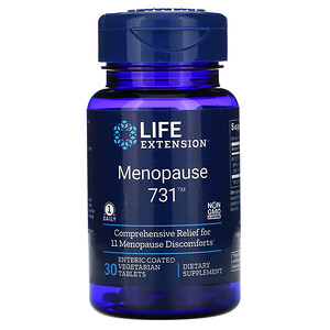 Лайф Экстэншн, Menopause 731, 30 Enteric Coated Vegetarian Tablets отзывы