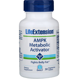 Life Extension, Activador Metabólico AMPK, 30 Tabletas Vegetarianas