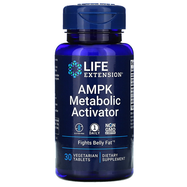 AMPK Metabolic Activator, 30 Vegetarian Tablets