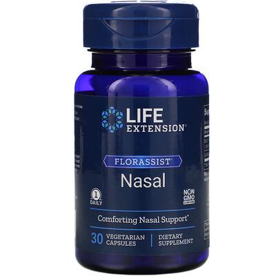 Купить Life Extension FLORASSIST Nasal, 30 Vegetarian Capsules