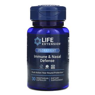 Life Extension, FLORASSIST Immune & Nasal Defense, 30 Vegetarian Capsules