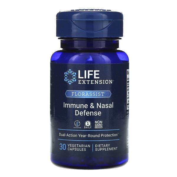 FLORASSIST Immune & Nasal Defense, 30 Vegetarian Capsules