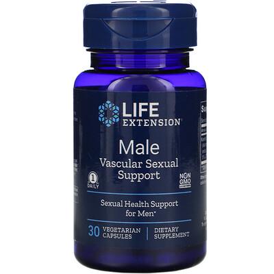 Купить Life Extension Male Vascular Sexual Support, 30 Vegetarian Capsules