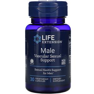 Лайф Экстэншн, Male Vascular Sexual Support, 30 Vegetarian Capsules отзывы