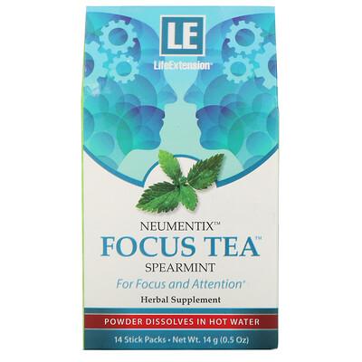 Купить Life Extension Neumentix, чай Focus с мятой, 14 пакетиков