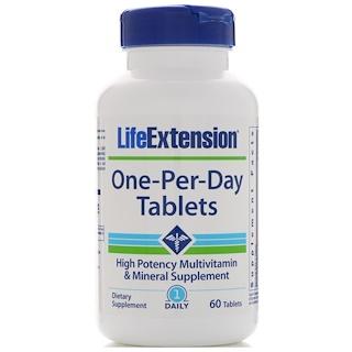 Life Extension, Таблетки одна-в-день, 60 таблеток