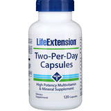 Отзывы о Life Extension, Капсулы Дважды-в-день, 120 капсул