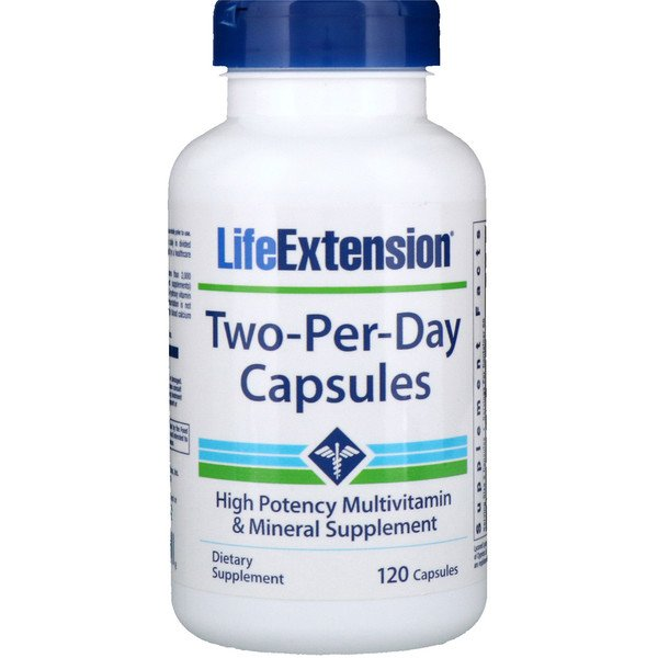 Life Extension, 1日2カプセル、120カプセル (Discontinued Item)