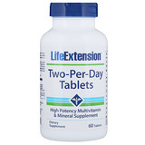 Отзывы о Life Extension, Таблетки Two-Per-Day, 60 таблеток