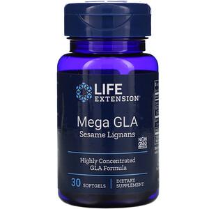 Лайф Экстэншн, Mega GLA Sesame Lignans, 30 Softgels отзывы покупателей