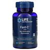 Life Extension, Fast-C с фитосомами биокверцетина, 60вегетарианских таблеток
