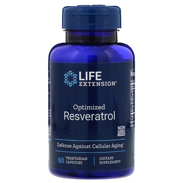 Optimized Resveratrol, 60 Vegetarian Capsules
