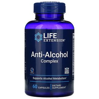 Life Extension, Anti-Alcohol Complex, 60 Capsules