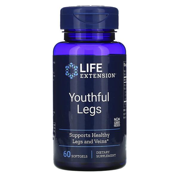 維持腿部健康補充劑,60 粒軟凝膠