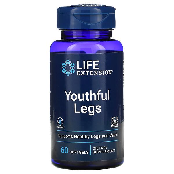 Youthful Legs , 60 Softgels