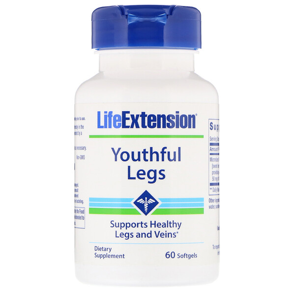 Youthful Legs ,  60 Softgels