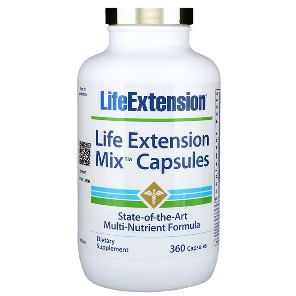Life Extension, 混合膠囊,360粒膠囊