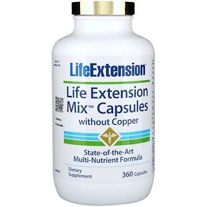 Лайф Экстэншн, Mix Capsules without Copper, 360 Capsules отзывы