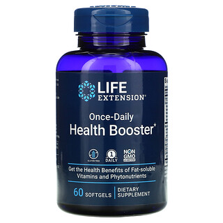 Life Extension, Once-Daily Health Booster, 60 Cápsulas Softgel