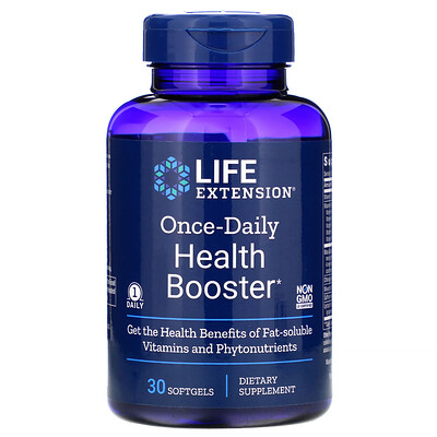 Купить Life Extension Once-Daily Health Booster, 30 Softgels