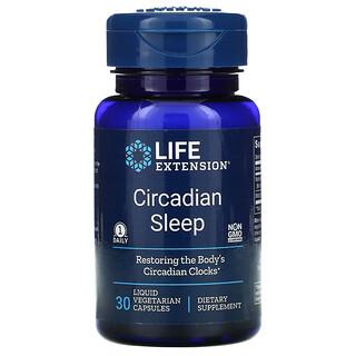 Life Extension, 晝夜節律酣眠,30 粒液體素食膠囊
