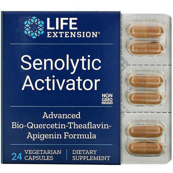 Senolytic Activator, 24 Vegetarian Capsules