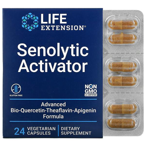 Activador senolítico, 24cápsulas vegetales