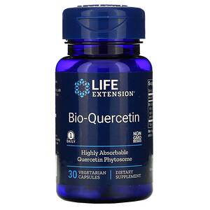 Лайф Экстэншн, Bio-Quercetin, 30 Vegetarian Capsules отзывы