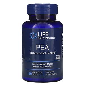 Лайф Экстэншн, PEA Discomfort Relief, 60 Chewable Tablets отзывы